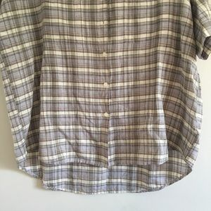 Madewell Tops - Madewell Plaid Courier Button Down Shirt